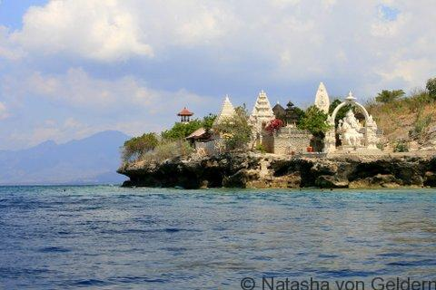 Temple on Menjangan Island, West Bali National Park, Indonesia
