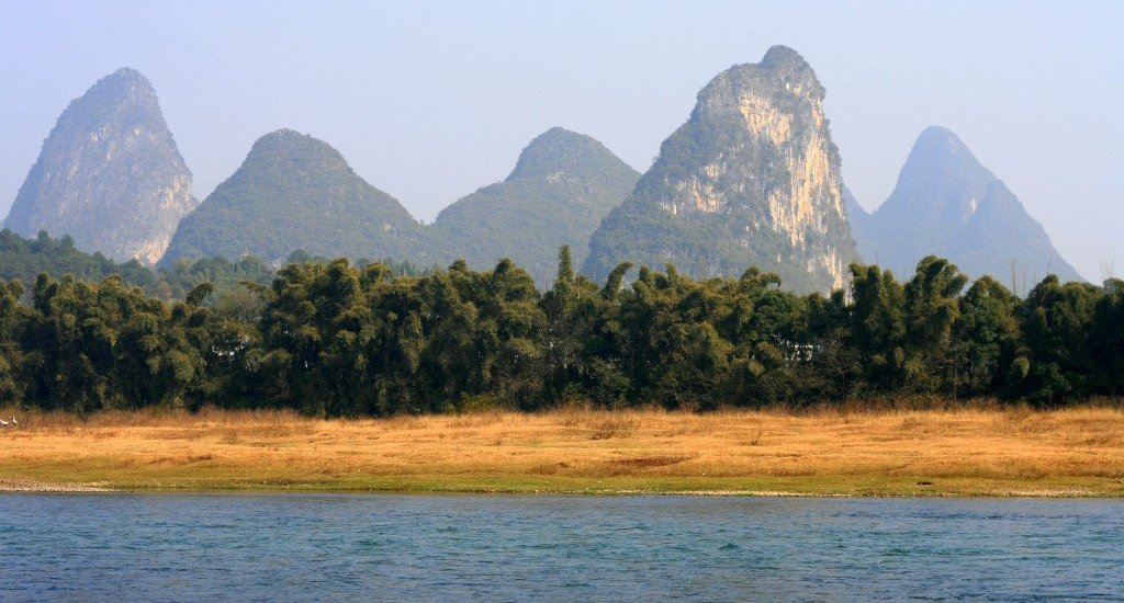 Yangshuo Karst Scenery and Li River