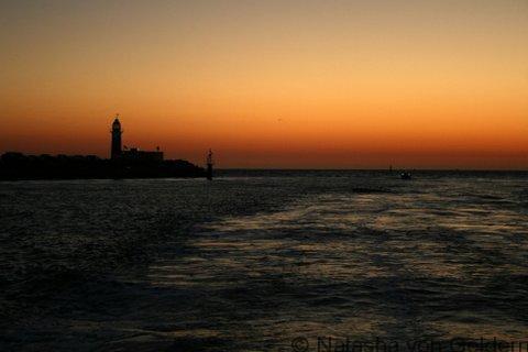 Fremantle sunset over the Indian Ocean, Australia