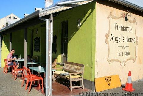 Fremantle - the Angel's House cafe, Australia