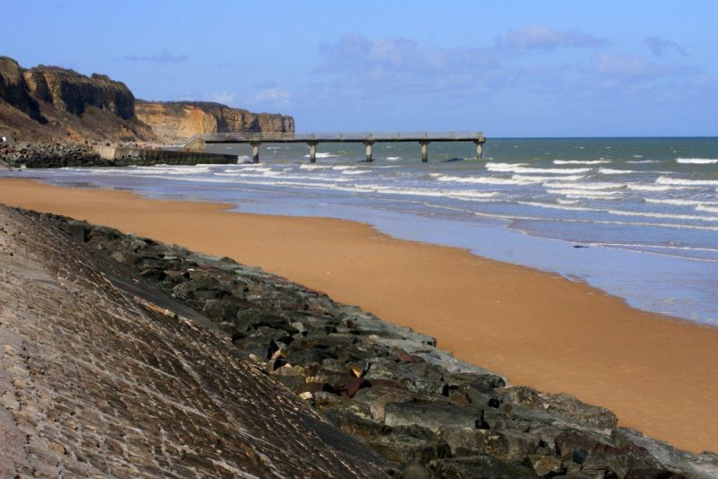 Normandy D-Day landing beaches, France