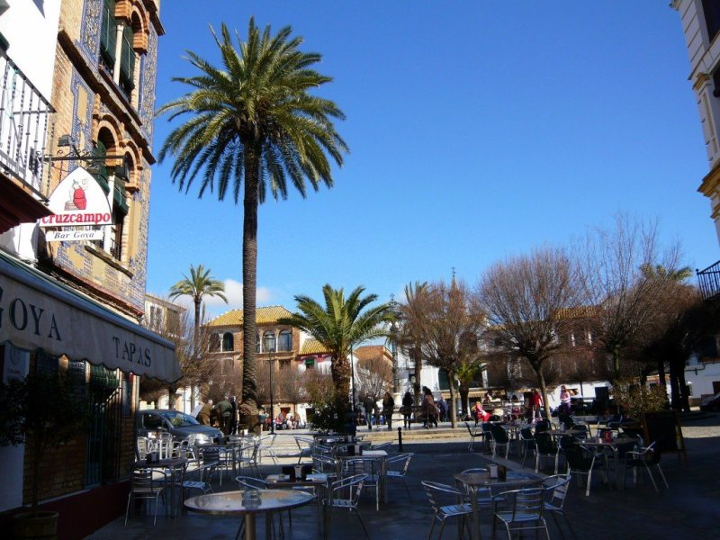 Placa San Fernando, Carmona, Spain