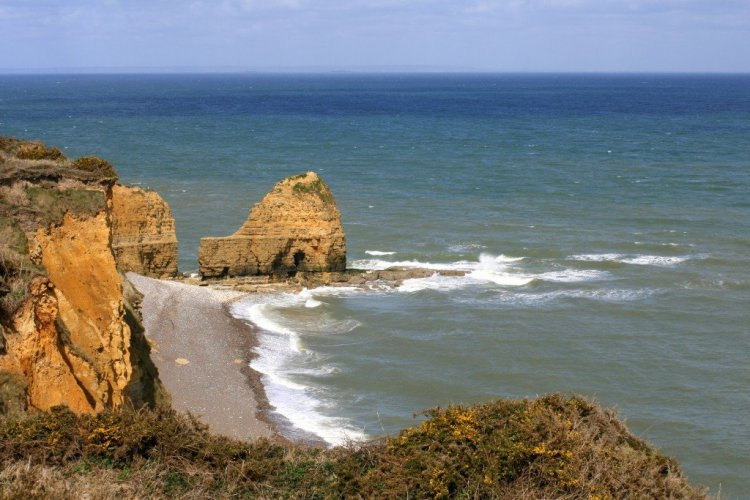 Point du Hoc, Normandy landing beaches, France