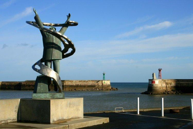 Port au Bessin war memorial, Normandy, France
