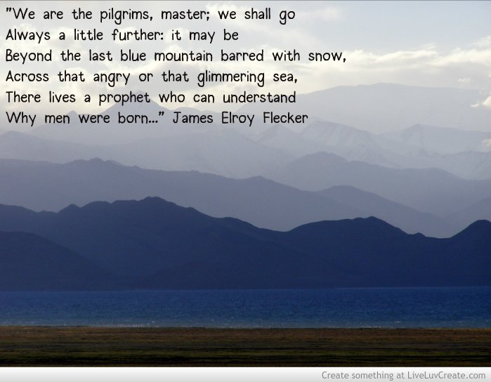 We Are The Pilgrims Master