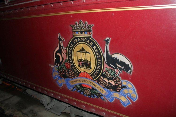 Melbourne Colonial Tramcar Restaurant Australia