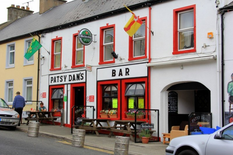 Patsy Dan's pub Dunfanaghy, Donegal Ireland
