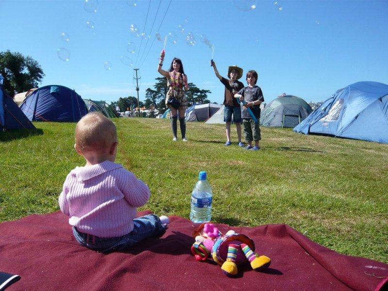 Kids fun at Camp Bestival