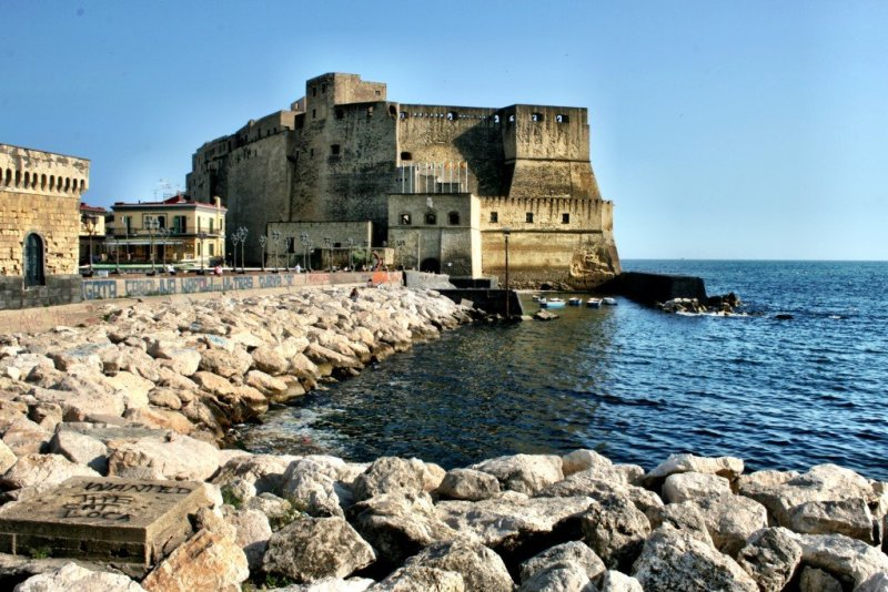 Castel dell'Ovo Naples waterfront