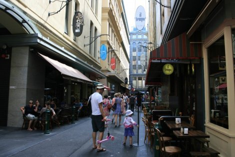 Exploring Melbourne's Laneways, Australia