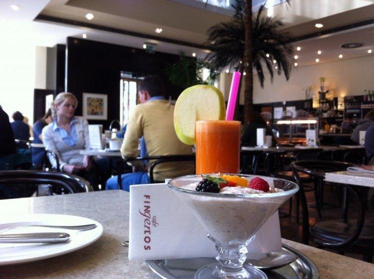 Breakfast at Cafe Fingerlos, Salzburg