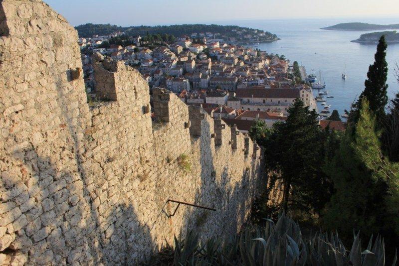 Hvar Town walls