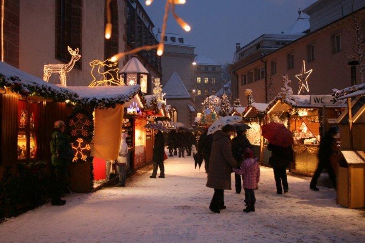 Basel Christmas Market, Switzerland