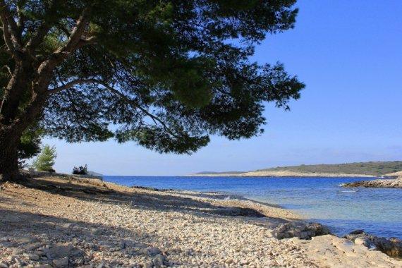 Pakleni Islands beach, Croatia