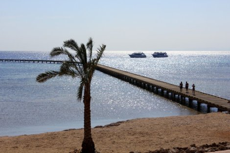 Soma Bay jetty, Egypt Red Sea