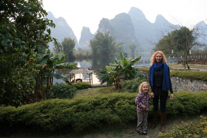 Staying at the Yangshuo Mountain Retreat