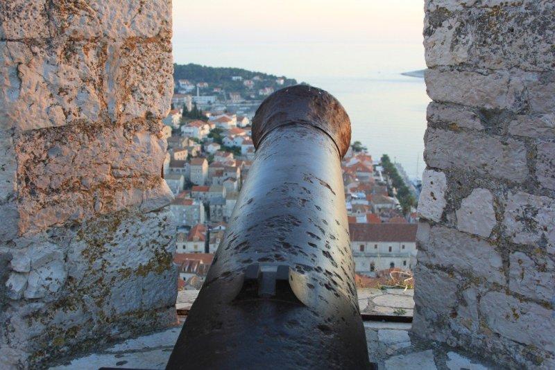 The Spanjola Fortress, Hvar Town