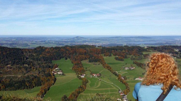 View from Nockstein, Salzburgerland
