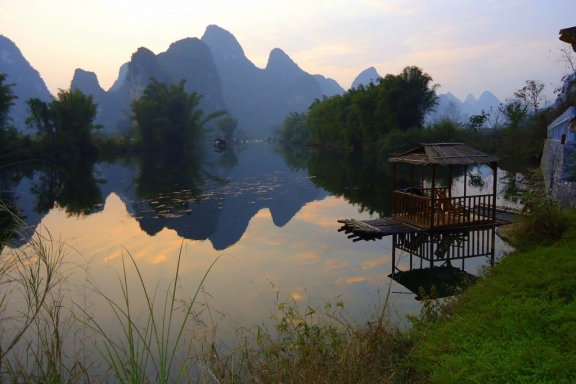 View from Yangshuo Mountain Retreat