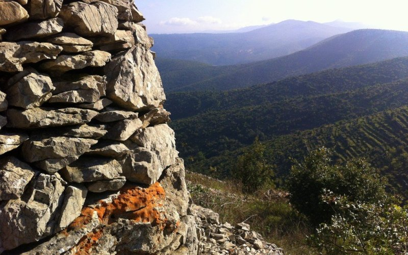 Views of Hvar interior, Croatia