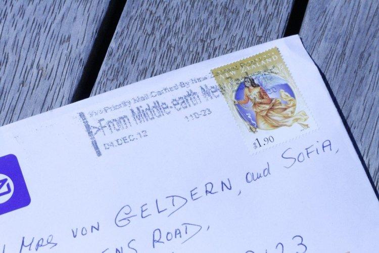 Postmark Middle Earth New Zealand