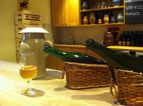 Cantillon Brewery tasting Brussels