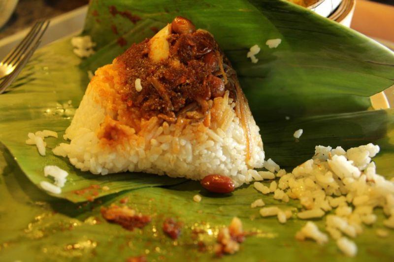 Nasi Lemak in Kota Kinabalu, Malaysia