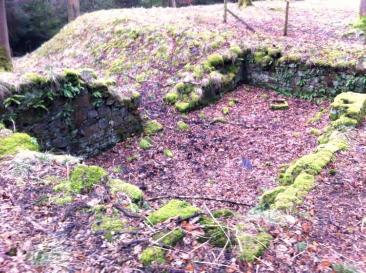 Tin Town Birchinlee remains Upper Derwent Valley, Derbyshire