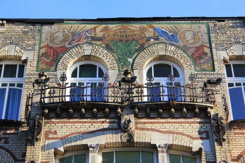 Waterloostraat, Zurenborg district, Antwerp Belgium