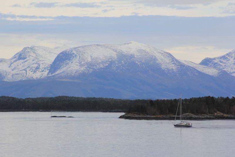 Landscapes on the Norway coastal voyage