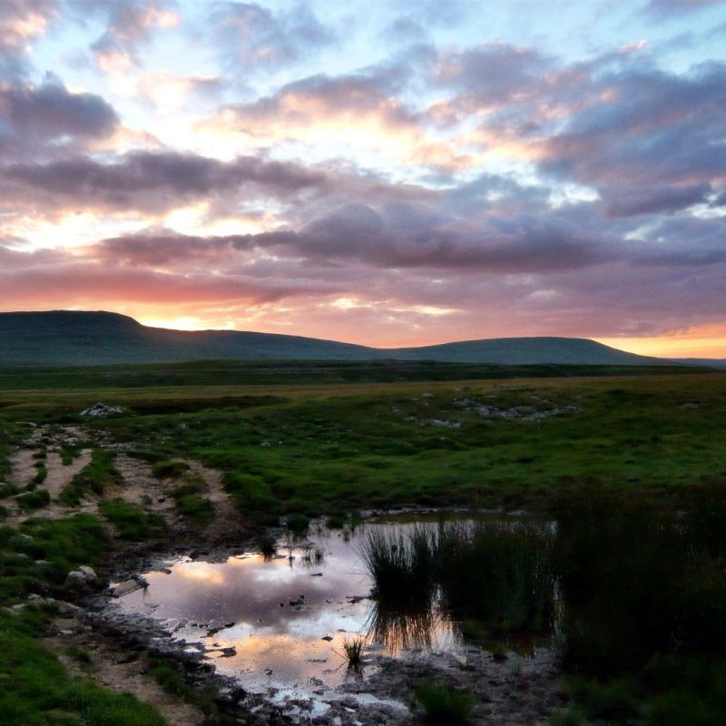 Sunset in the Yorkshire Dales 3 Peaks