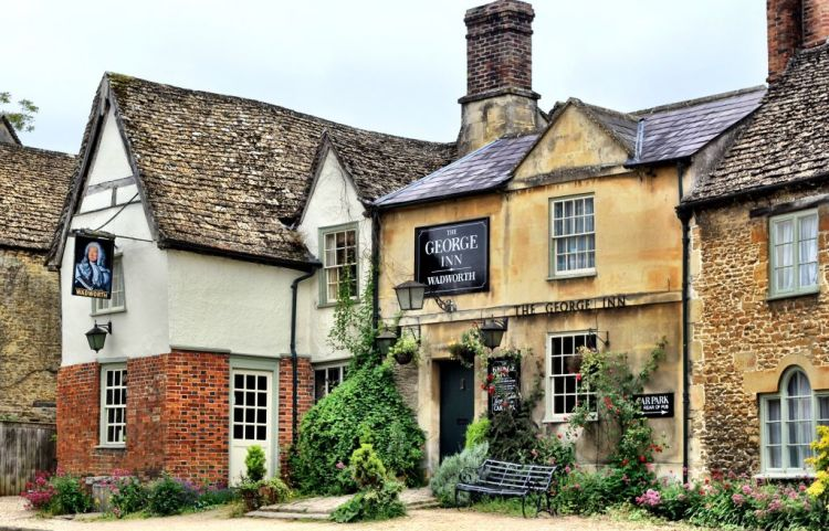The George Inn at Lacock, England