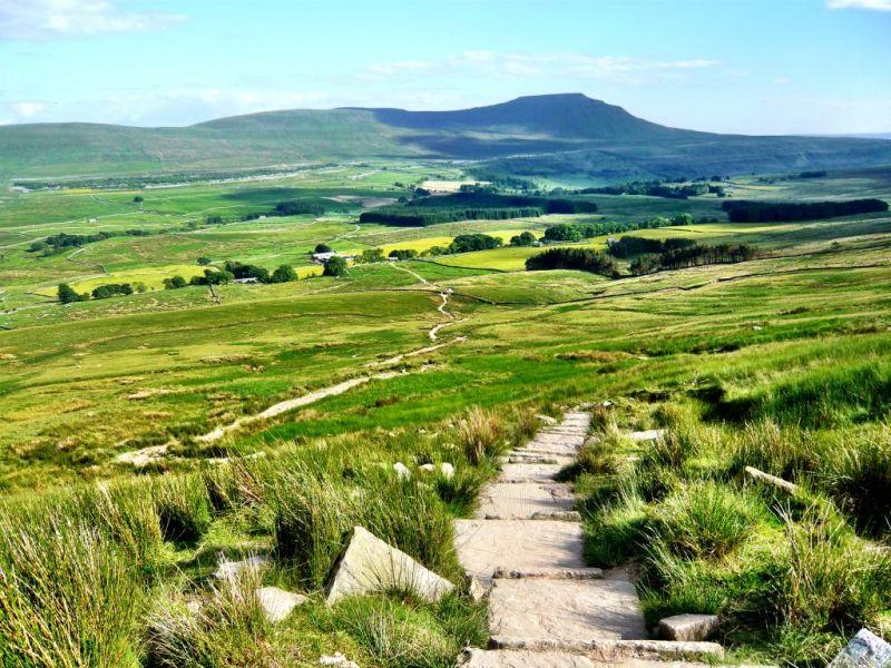 Yorkshire 3 Peaks landscape