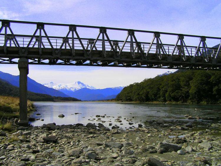 Haast River, New Zealand