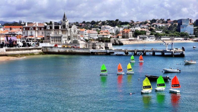 Cascais sailing, Portugal