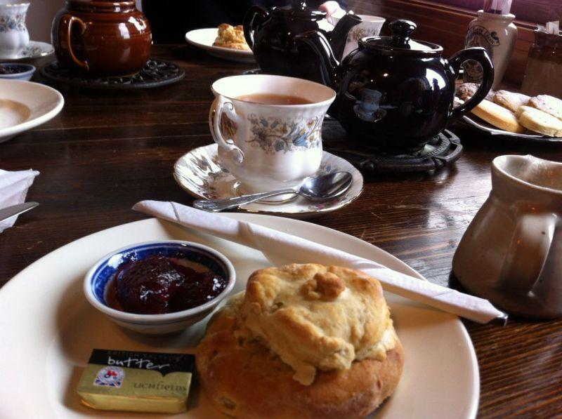 Delicious scones Elgol, Skye
