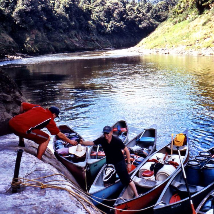 Great River Journey on the Whanganui River, New Zealand