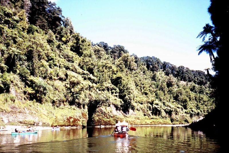 Paddling the Whanganui River, New Zealand