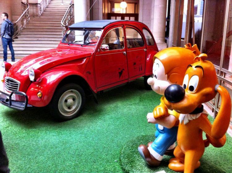 Belgian Comic Arts Museum, Brussels