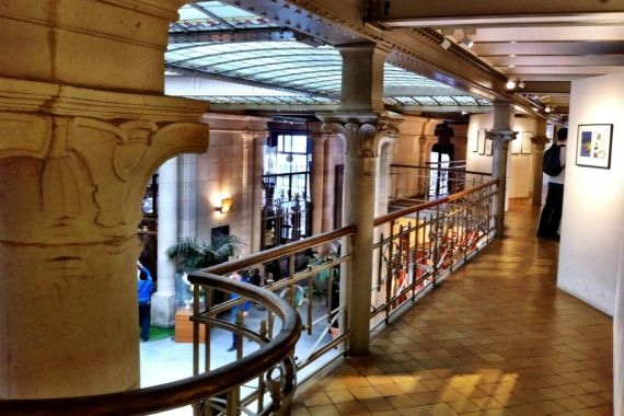Victor Horta designed Comic Arts Museum, Brussels