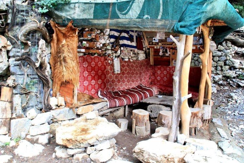 Imbros Gorge rest stop Crete