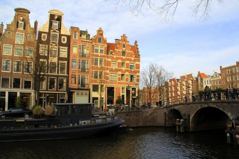 Cafe Papeneilland in Amsterdam's Jordaan