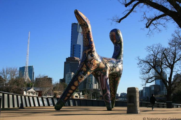 Angel, Birrarung Marr, Melbourne