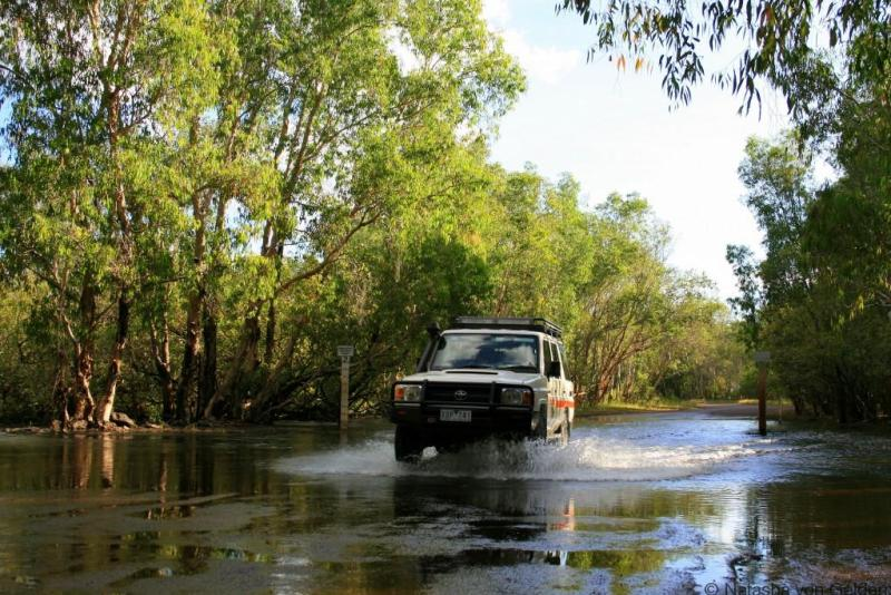 4WD driving in Kakadu National Park www.worldwanderingkiwi.com Natasha von Geldern