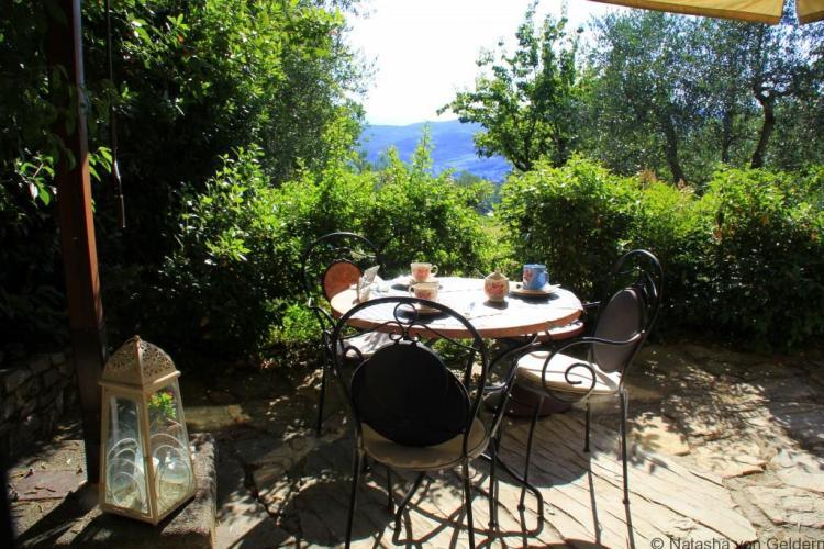 Chianti breakfast Italy Photo by Natasha von Geldern