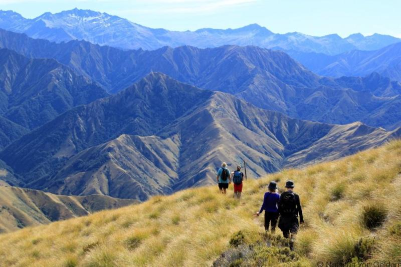 Hiking Moonlight Track Queenstown New Zealand Photo by Natasha von Geldern