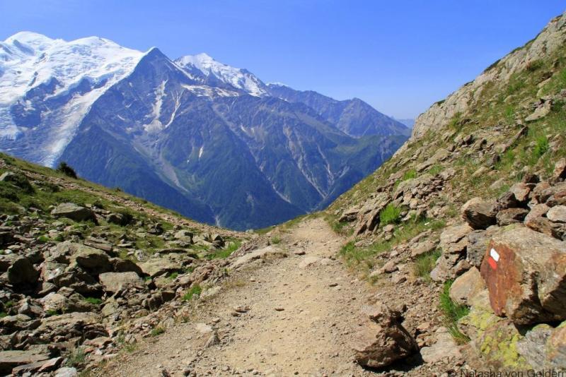 Hiking the Tour du Mt Blanc