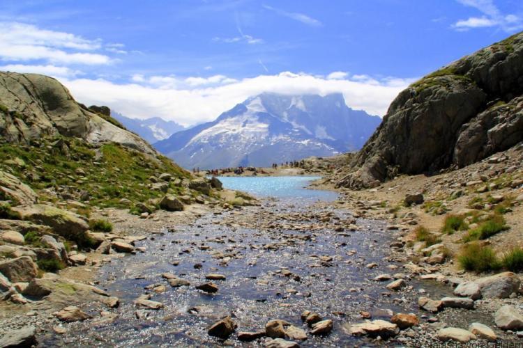View from Lac Blanc, Tour du Mt Blanc