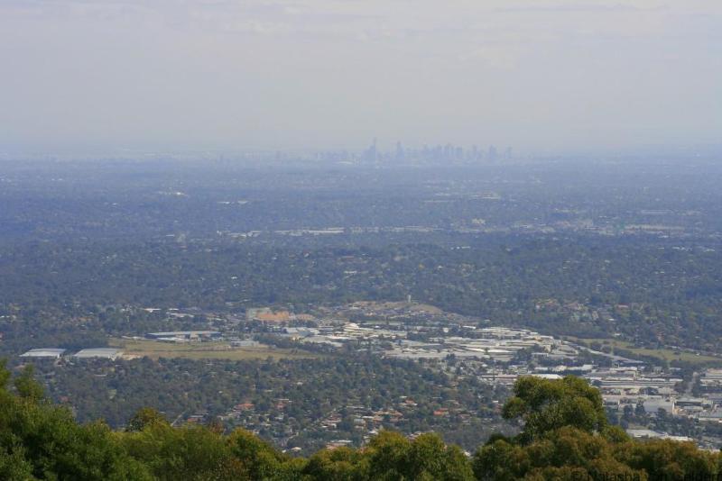 View from SkyHigh, Dandenong Ranges, Victoria Australia