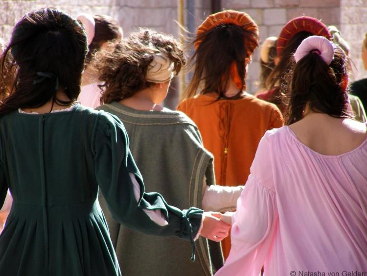 Festival in Assisi, Umbria